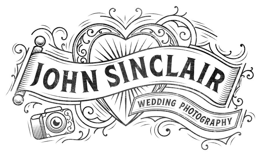 Logo for Edinburgh wedding photographer John Sinclair